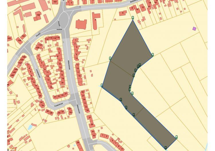 Vastgoed Unicum -     Waarschoot, Projectgrond             - Grond in woonuitbreidingsgebied van 17270 m2 voor 600.000 EUR